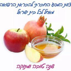 שנה טובה ומבורכת – שנה של הגברת הביטחון הבריאותי של כלל תושבי ישראל